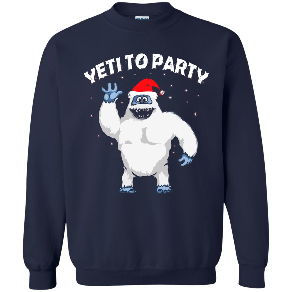 image 32 - Yeti to Party Christmas Sweater, Hoodie