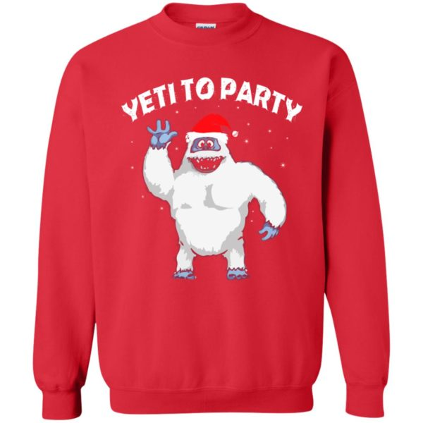 image 33 600x600 - Yeti to Party Christmas Sweater, Hoodie