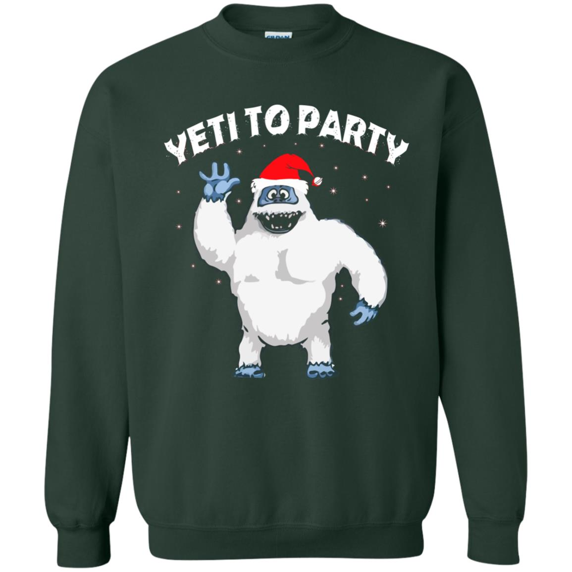 image 34 - Yeti to Party Christmas Sweater, Hoodie