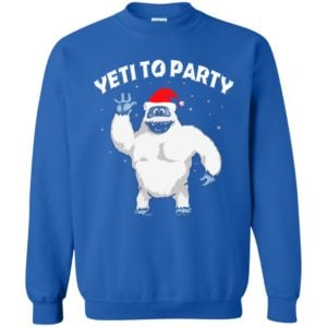 image 35 300x300 - Yeti to Party Christmas Sweater, Hoodie
