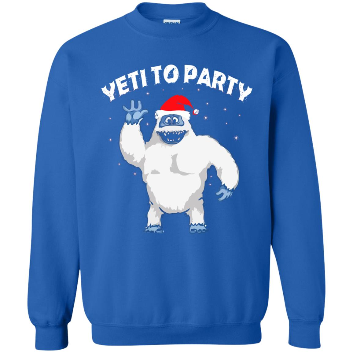 image 35 - Yeti to Party Christmas Sweater, Hoodie