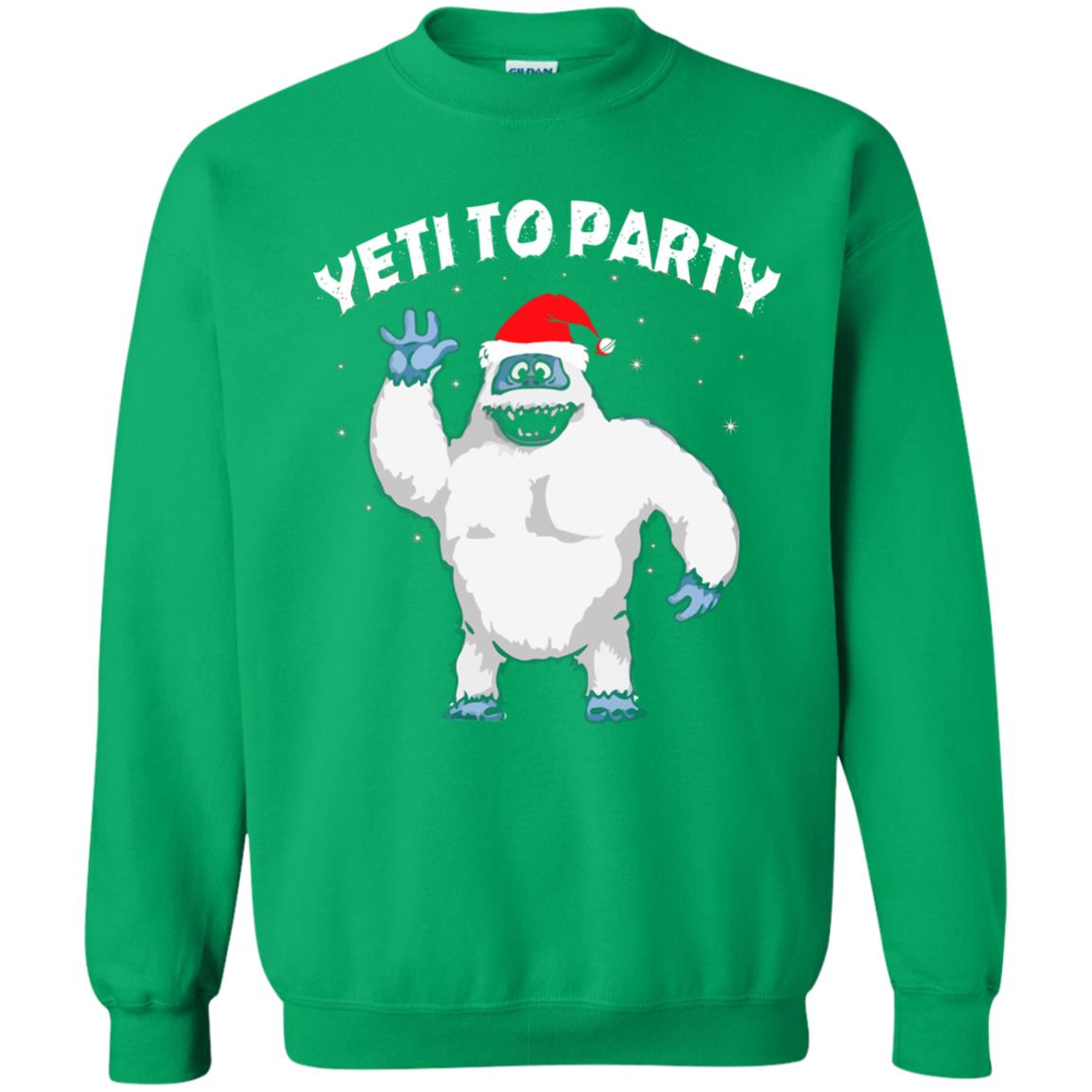 image 36 - Yeti to Party Christmas Sweater, Hoodie