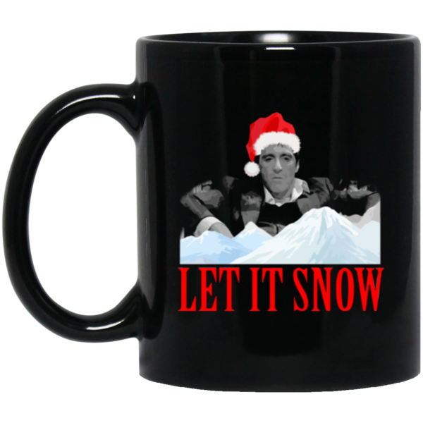 image 600x600 - Let it snow mug