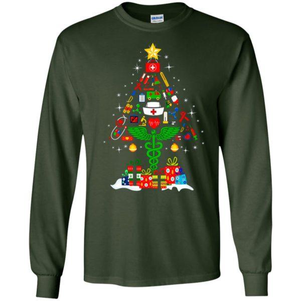 image 90 600x600 - Nurse Christmas Tree sweater, hoodie, long sleeve
