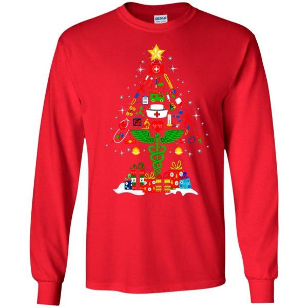 image 91 600x600 - Nurse Christmas Tree sweater, hoodie, long sleeve