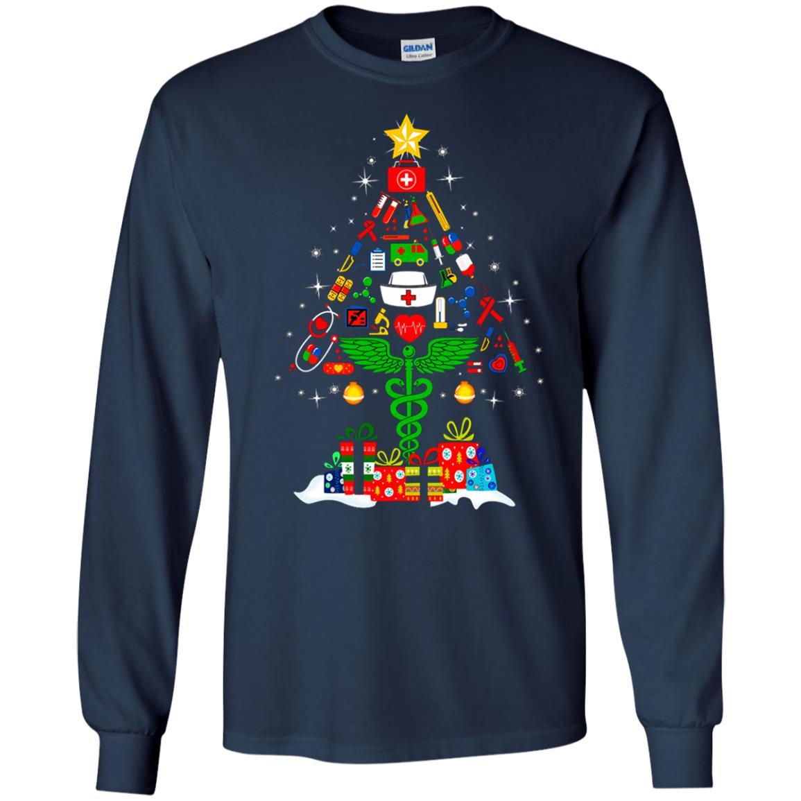 image 92 - Nurse Christmas Tree sweater, hoodie, long sleeve