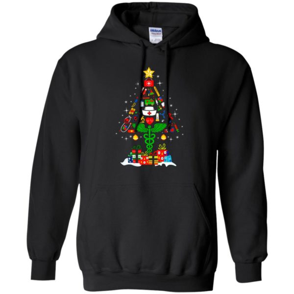 image 93 600x600 - Nurse Christmas Tree sweater, hoodie, long sleeve