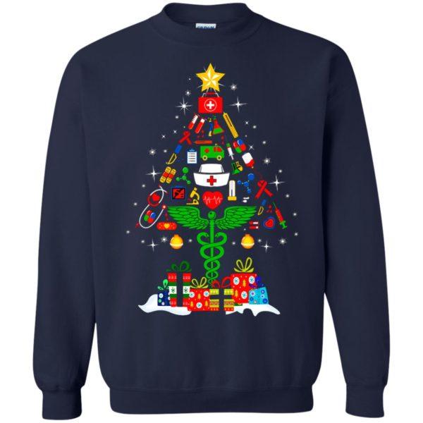 image 96 600x600 - Nurse Christmas Tree sweater, hoodie, long sleeve