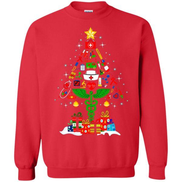 image 97 600x600 - Nurse Christmas Tree sweater, hoodie, long sleeve