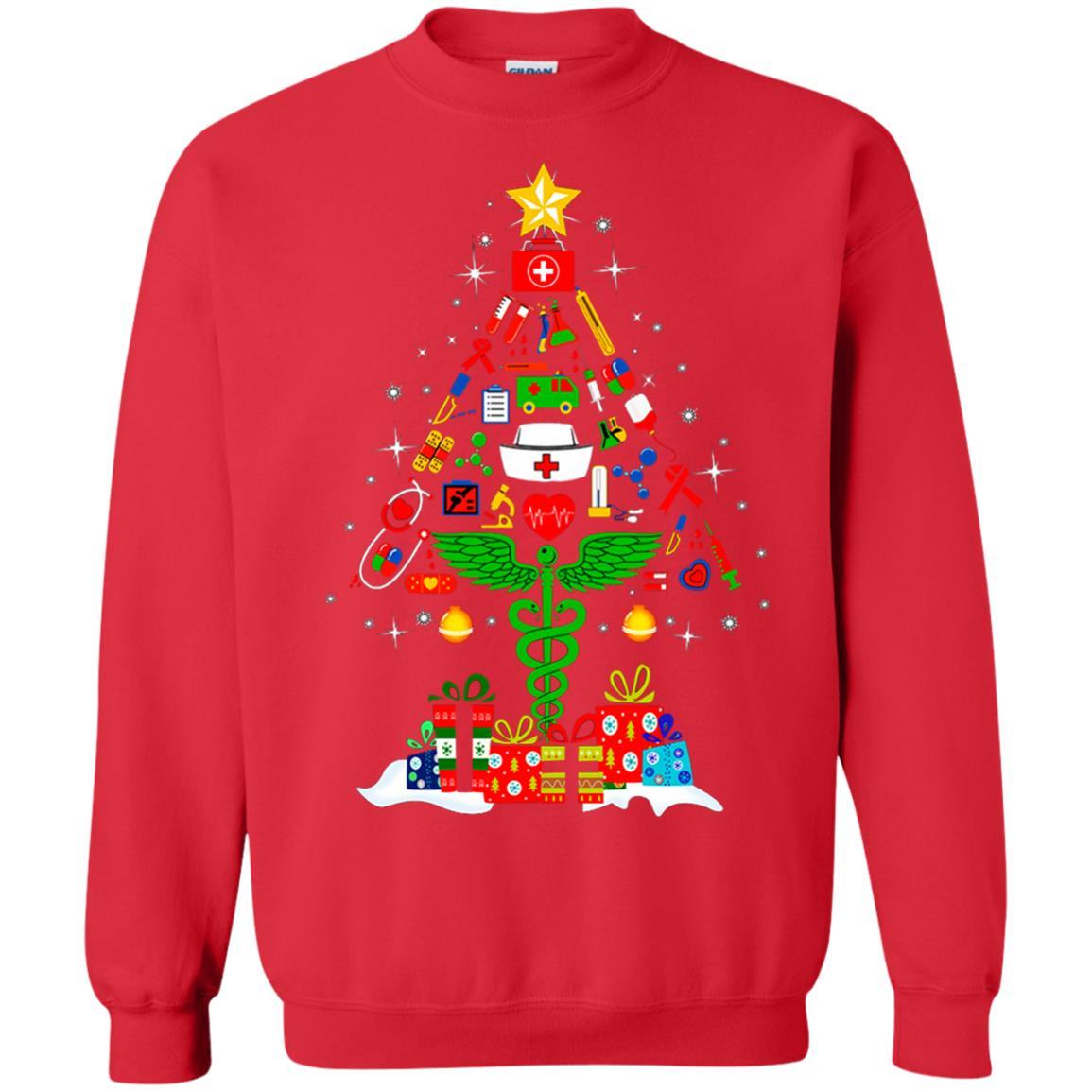 image 97 - Nurse Christmas Tree sweater, hoodie, long sleeve
