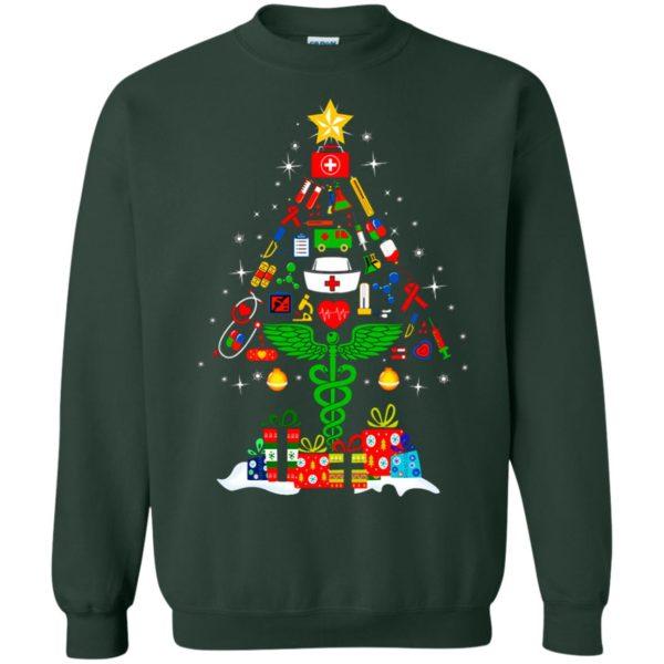 image 98 600x600 - Nurse Christmas Tree sweater, hoodie, long sleeve
