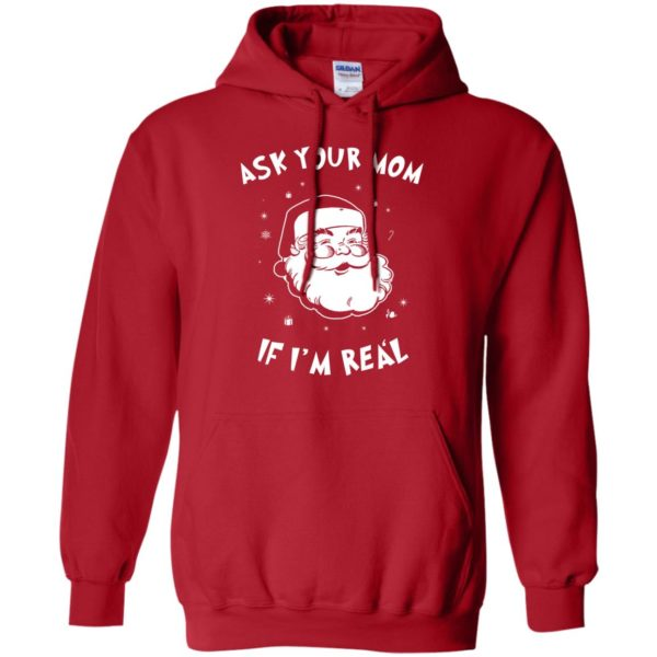 image 980 600x600 - Santa Claus Ask Your Mom If I'm Real Christmas Sweater, Hoodie