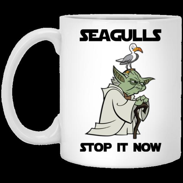 image 4 600x600 - Yoda Seagulls Stop It Now Mug