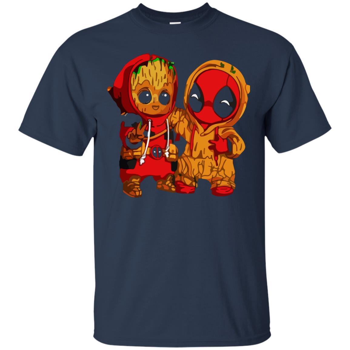 image 432 - Baby Groot And Deadpool Sweatshirt, Hoodie