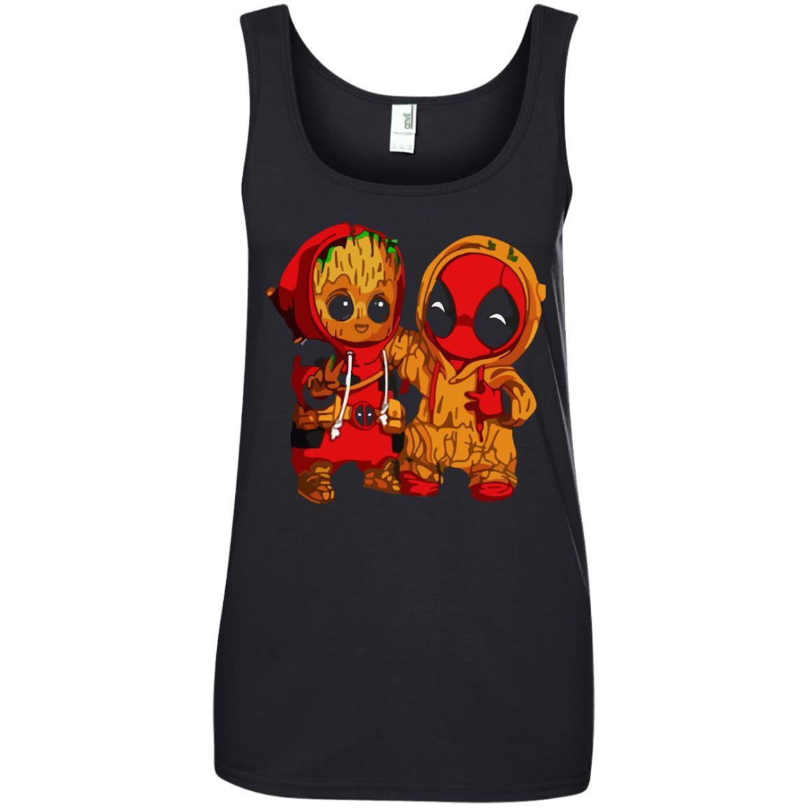 image 439 - Baby Groot And Deadpool Sweatshirt, Hoodie