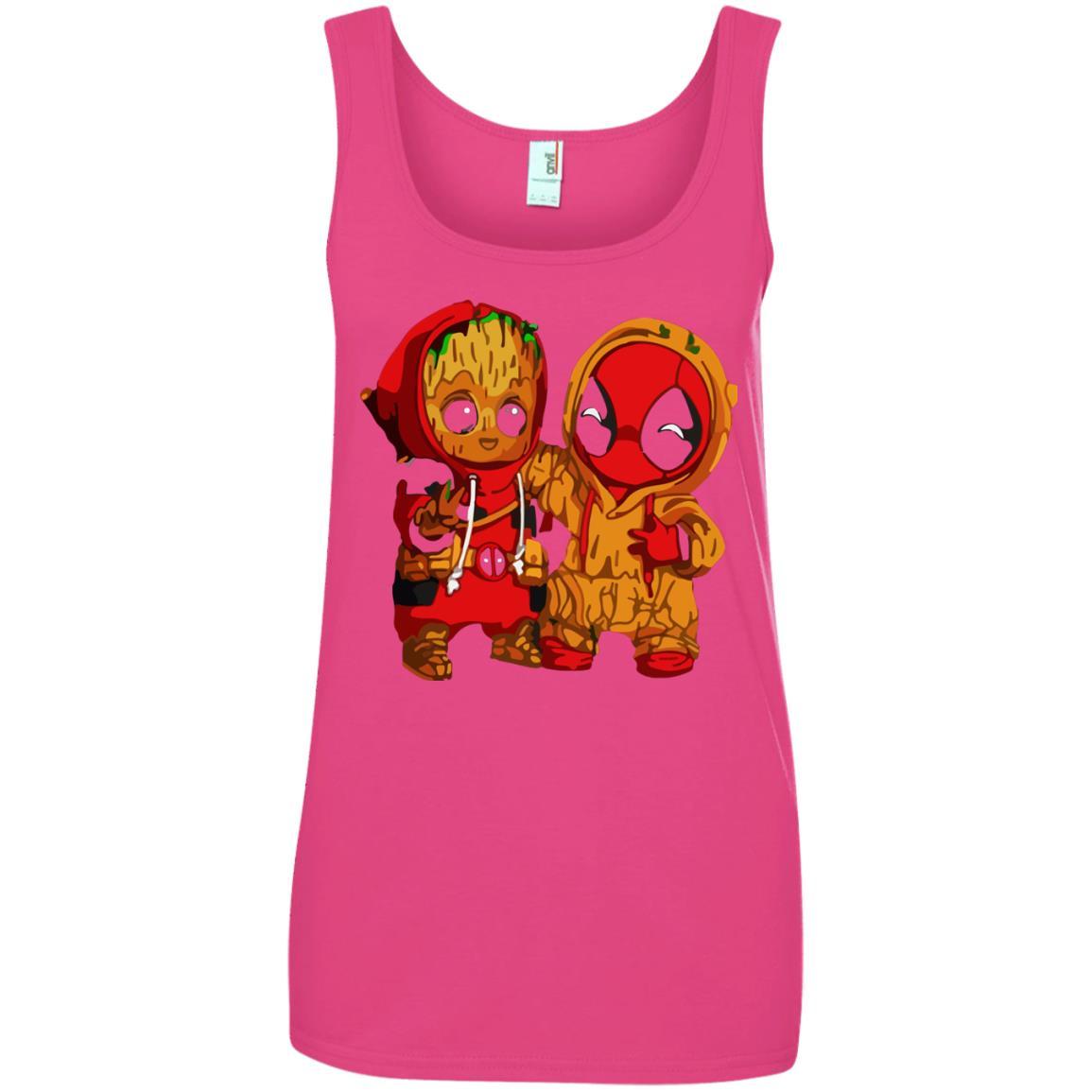 image 440 - Baby Groot And Deadpool Sweatshirt, Hoodie