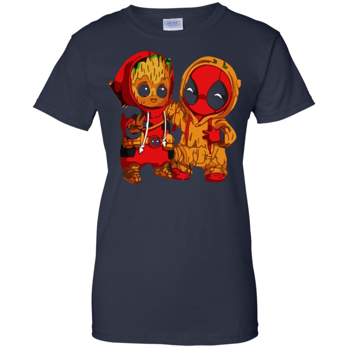 image 442 - Baby Groot And Deadpool Sweatshirt, Hoodie