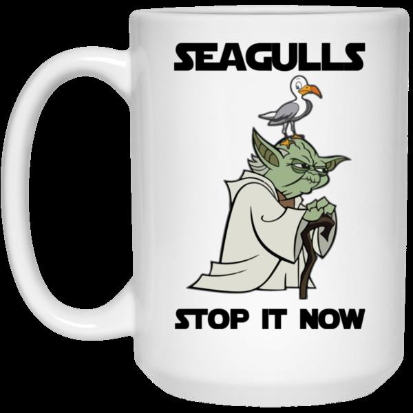 image 5 600x600 - Yoda Seagulls Stop It Now Mug