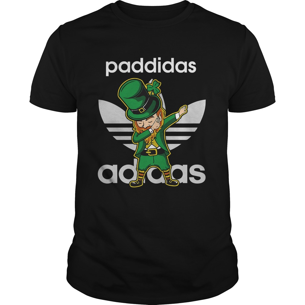 90178 1519441177622 Gildan Men Black  w96  front - Leprechaun Dabbing Paddidas Shirt, Hoodie