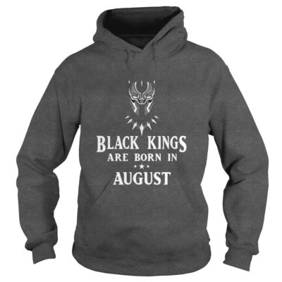 90178 1519638720067 Gildan Hoo Dark Grey  w96  front 400x400 - Black Panther: Black Kings Are Born In August Shirt, Hoodie, LS