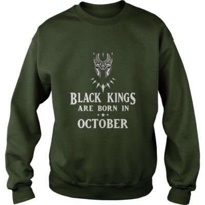 90178 1519660778545 Gildan Swe Forest  w98  front 400x400 - Black Panther: Black Kings Are Born In October Shirt, Hoodie, LS