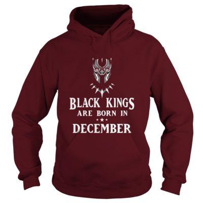 90178 1519661462760 Gildan Hoo Maroon  w98  front 400x400 - Black Panther: Black Kings Are Born In December Shirt, Hoodie, LS