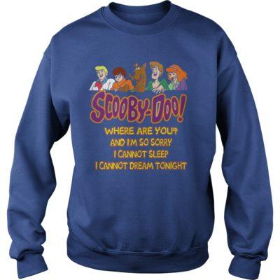 90178 1519812225860 Gildan Swe Royal Blue  w98  front 400x400 - Scooby Doo Where Are You Shirt, Hoodie, LS, SweatShirt