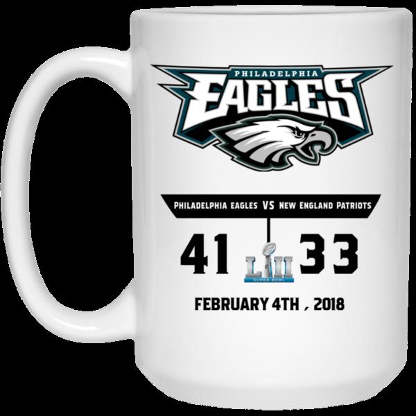 image 1 600x600 - Eagles 41 - 33 Super Bowl Mug