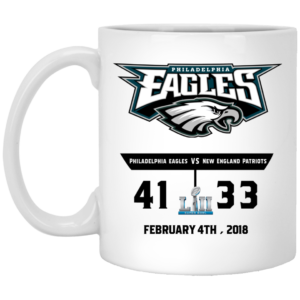 image 300x300 - Eagles 41 - 33 Super Bowl Mug