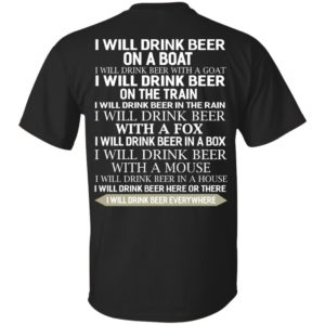 image 312 300x300 - I Will Drink Beer On a Boat I Will Drink Beer With a Goat Shirt