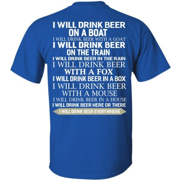 image 313 600x600 - I Will Drink Beer On a Boat I Will Drink Beer With a Goat Shirt