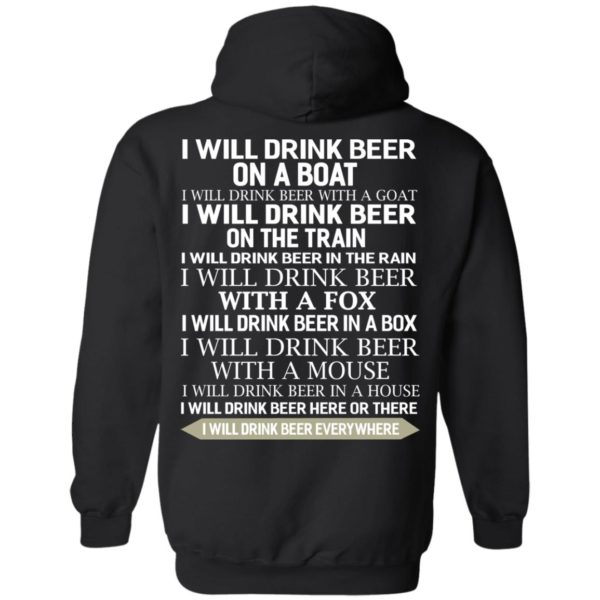 image 318 600x600 - I Will Drink Beer On a Boat I Will Drink Beer With a Goat Shirt