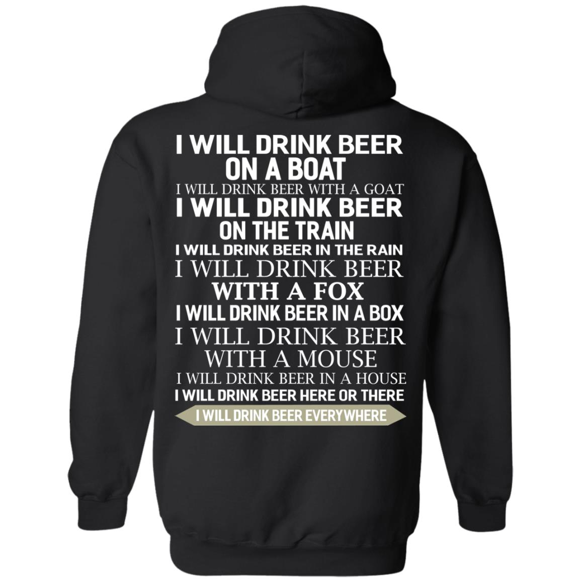 image 318 - I Will Drink Beer On a Boat I Will Drink Beer With a Goat Shirt