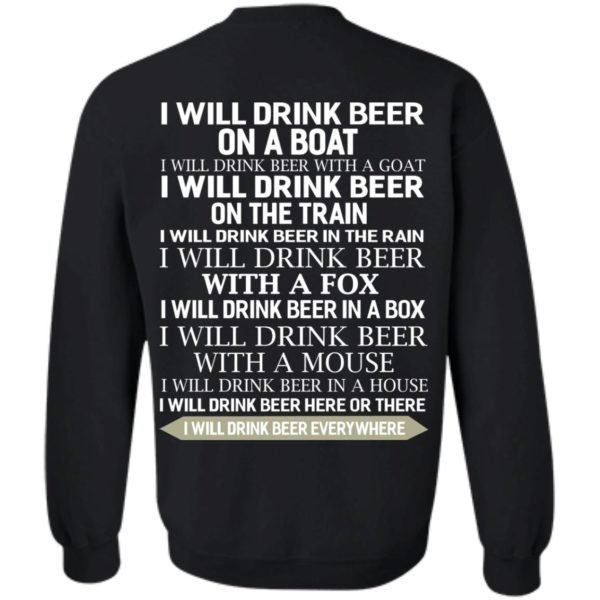 image 320 600x600 - I Will Drink Beer On a Boat I Will Drink Beer With a Goat Shirt