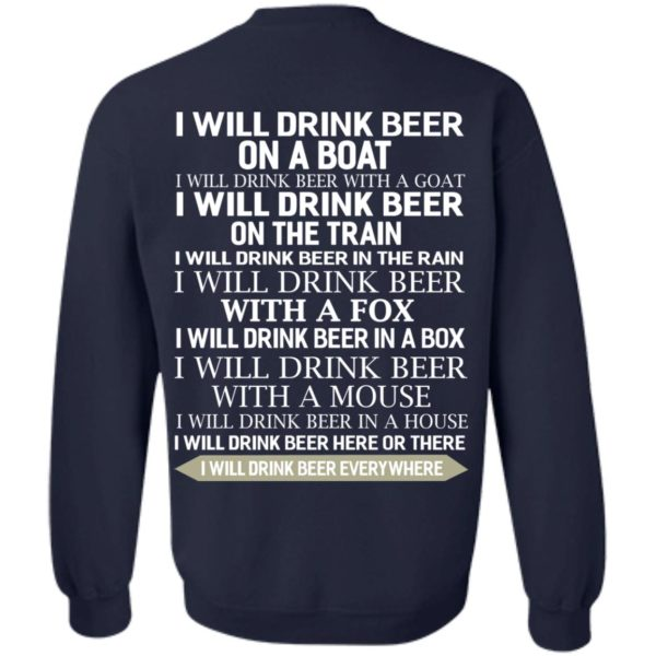 image 321 600x600 - I Will Drink Beer On a Boat I Will Drink Beer With a Goat Shirt