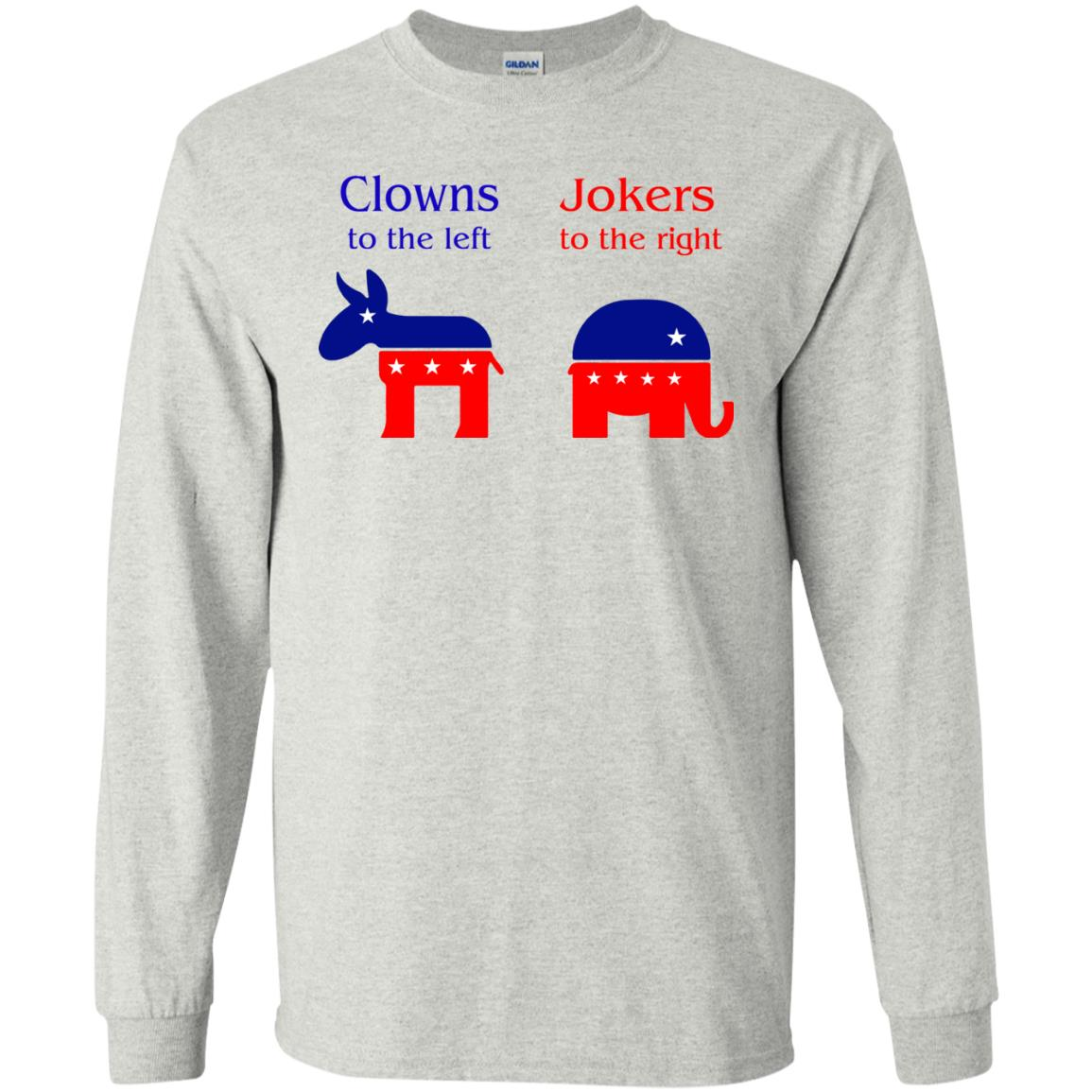image 75 - Clowns To The Left, Jokers To The Right Shirt, Sweatshirt, Hoodie