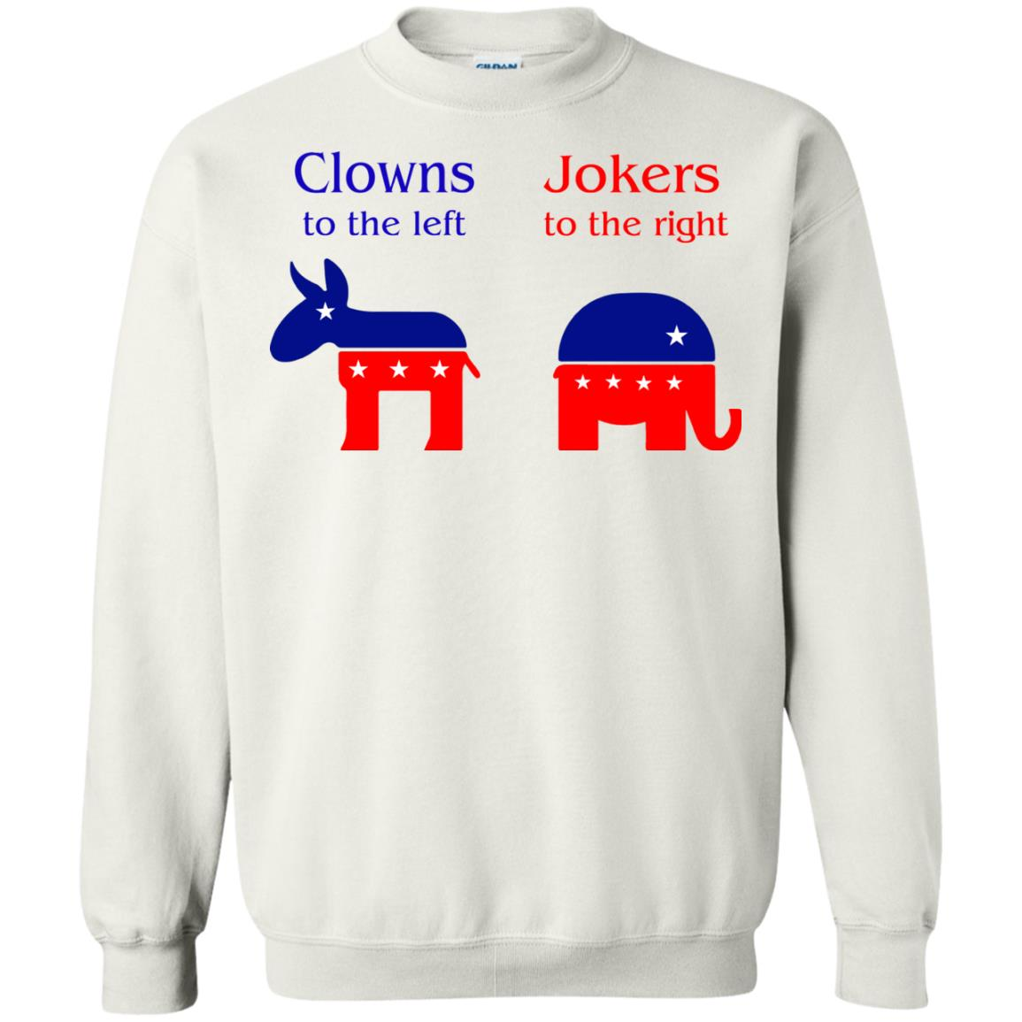 image 80 - Clowns To The Left, Jokers To The Right Shirt, Sweatshirt, Hoodie