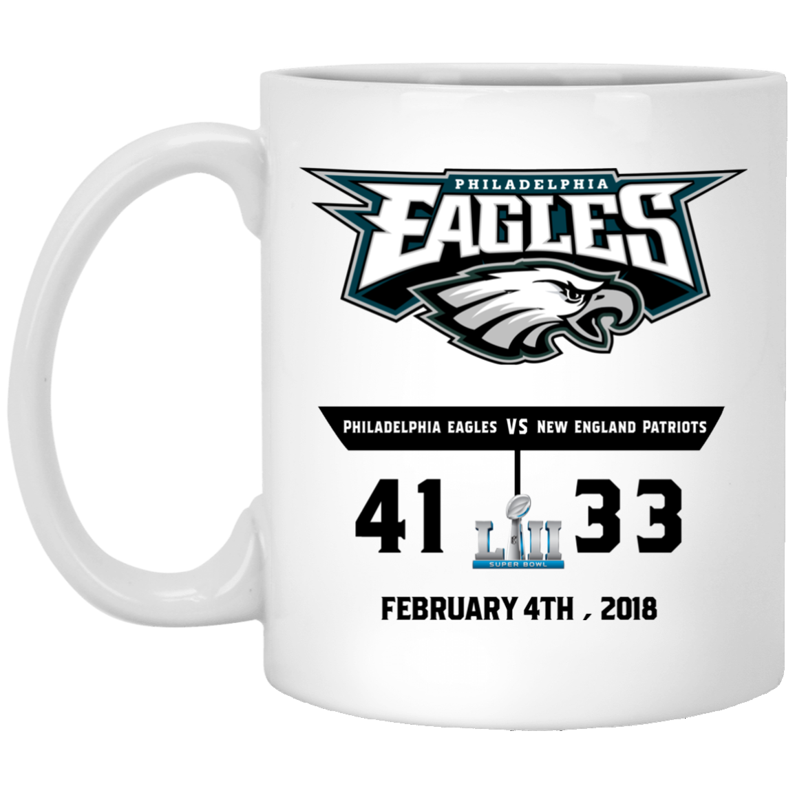 image - Eagles 41 - 33 Super Bowl Mug