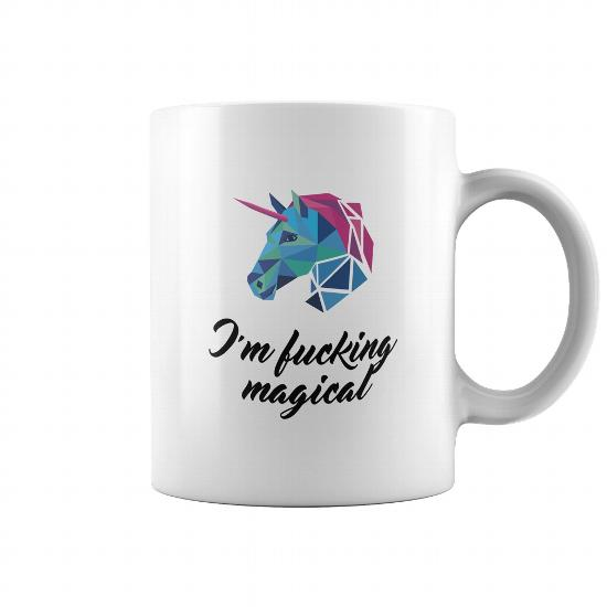 m 90178 1519543193408 Coffee Mug White  w97  front - Unicorn: I'm Lucking Magical Mugs