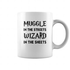 m 90178 1519544651999 Coffee Mug White  w97  front 300x300 - Harry Potter: Muggle In The Streets, Wizard In The Sheet Mugs
