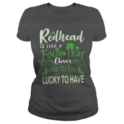 A Redhead Is Like A Four Leaf Clover Hard To Find Lucky To Have Shirt2 400x400 - A Redhead Is Like A Four Leaf Clover Hard To Find Lucky To Have Shirt, LS
