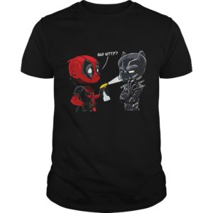 Bad Kitty Shirt 300x300 - Deadpool Black Panther Bad Kitty Shirt, Hoodie, LS