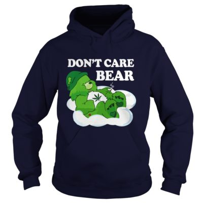 Dont Care Bear Weed Shirt1 400x400 - Don't Care Bear Weed Shirt, Hoodie, Long sleeve