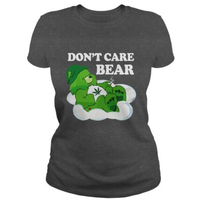 Dont Care Bear Weed Shirt2 400x400 - Don't Care Bear Weed Shirt, Hoodie, Long sleeve
