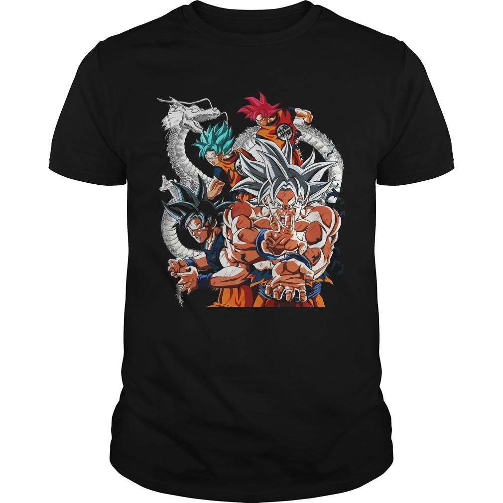 Dragon Ball Goku Super Saiyan Kamehameha Shirt - Dragon Ball: Goku Super Saiyan Kamehameha Shirt, LS, Sweatshirt