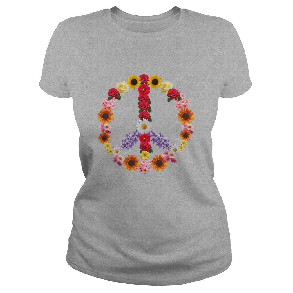 Flower Power Peace Shirt - Flower Power Peace Shirt, Hoodie, Long sleeve