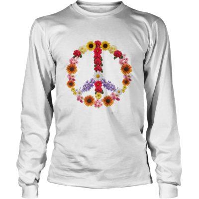Flower Power Peace Shirt3 400x400 - Flower Power Peace Shirt, Hoodie, Long sleeve