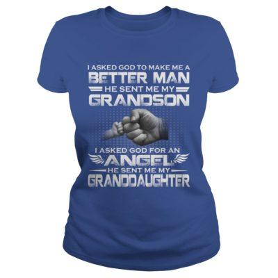 I Asked God To Make Me A Better Man He Sent Me My Grandson Shirt2 400x400 - I Asked God To Make Me A Better Man, He Sent Me My Grandson Shirt