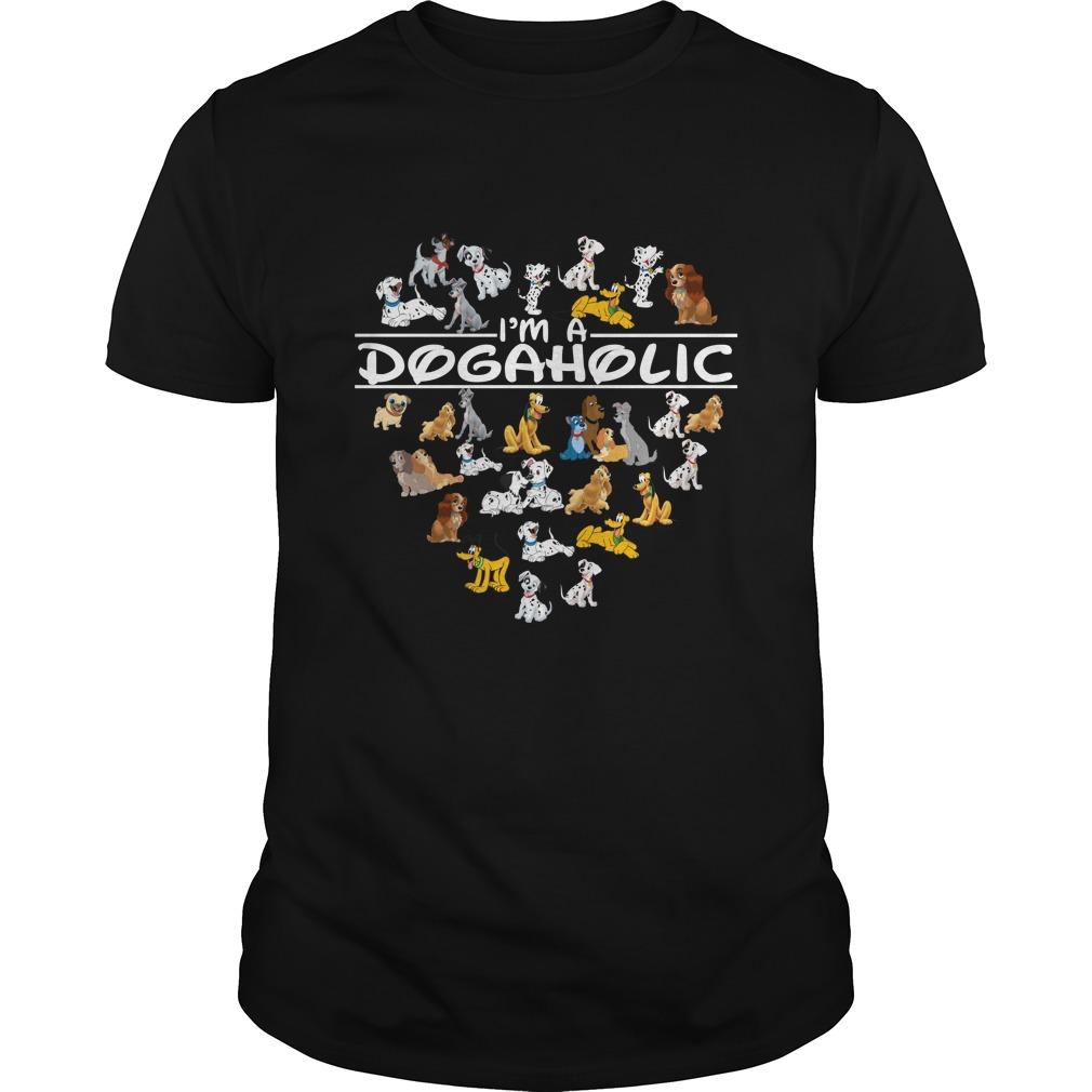 Im A Dog Aholic Shirt - I'm A Dog Aholic Shirt, Hoodie, Long sleeve