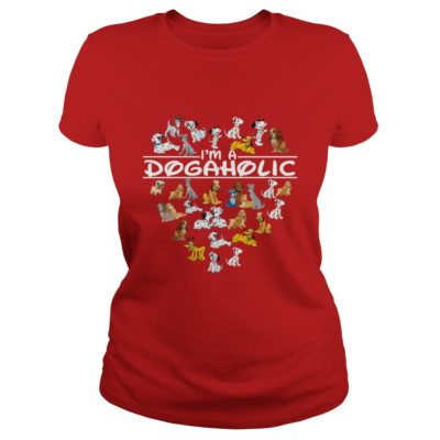 Im A Dog Aholic Shirt2 400x400 - I'm A Dog Aholic Shirt, Hoodie, Long sleeve